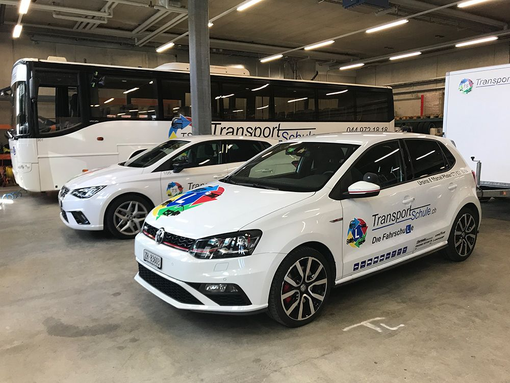 Autobeschriftung - Transportschule.ch