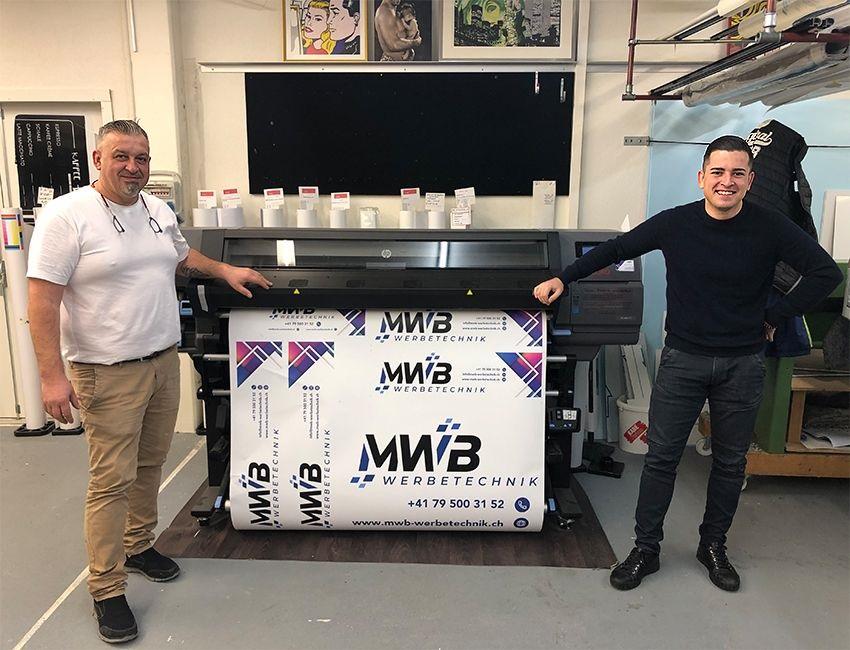 MWB Werbetechnik - das Team - Zeljko und David